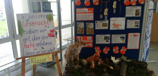 Die Klasse 3a unserer Grundschule befasste sich im Rahmen eines Projektes mit dem Fuchs. Das Ergebnis kann sich doch sehen lassen, Klasse gemacht.