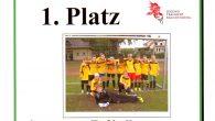 Jungen- Mannschaft der Jahn GS erreicht unbesiegt den 1. Platz beim Kreisfinale im Fußball und fährt im Mai zum Regionalfinale nach Cottbus.